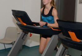 Běžecká škola a ukázka fitness