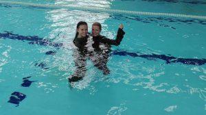 Plavání v maskáčích
