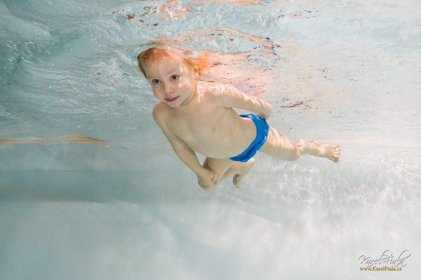 Plavání dětí s rodiči s BC Plaváček