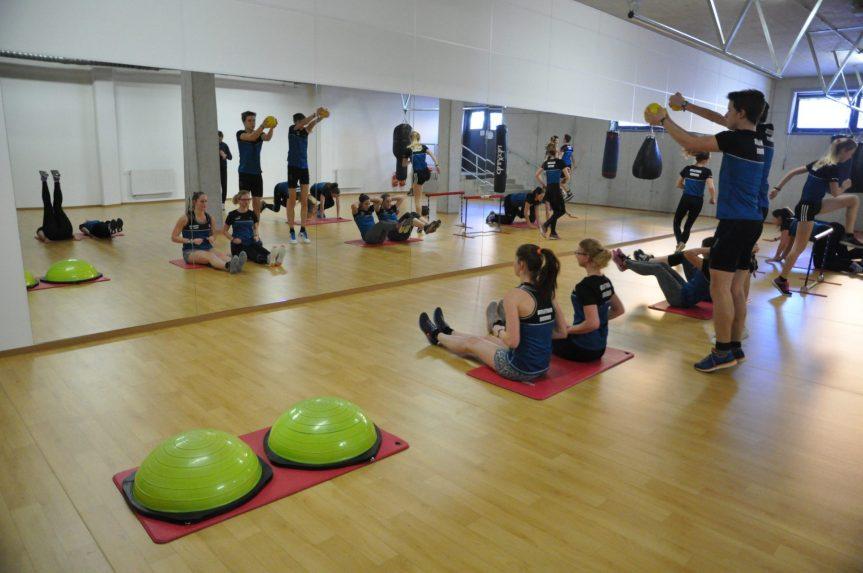 Kolektivní cvičení spuštěno – Cvičící sál otevřen!!!