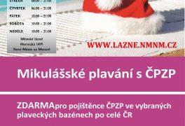 Mikulášské plavání s ČPZP 9.12.-10.12.2017