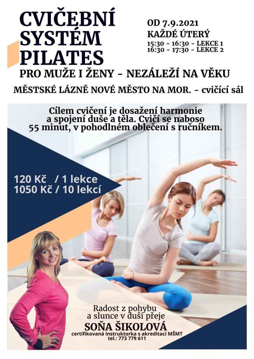 Pilates se Soňou Šikolovou